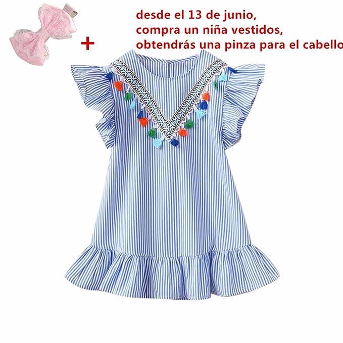 aaeb30aa7b ❤ Amlaiworld Ropa niña de Verano Vestido de princesa de bebé Niñas Vestido  de fiesta ...