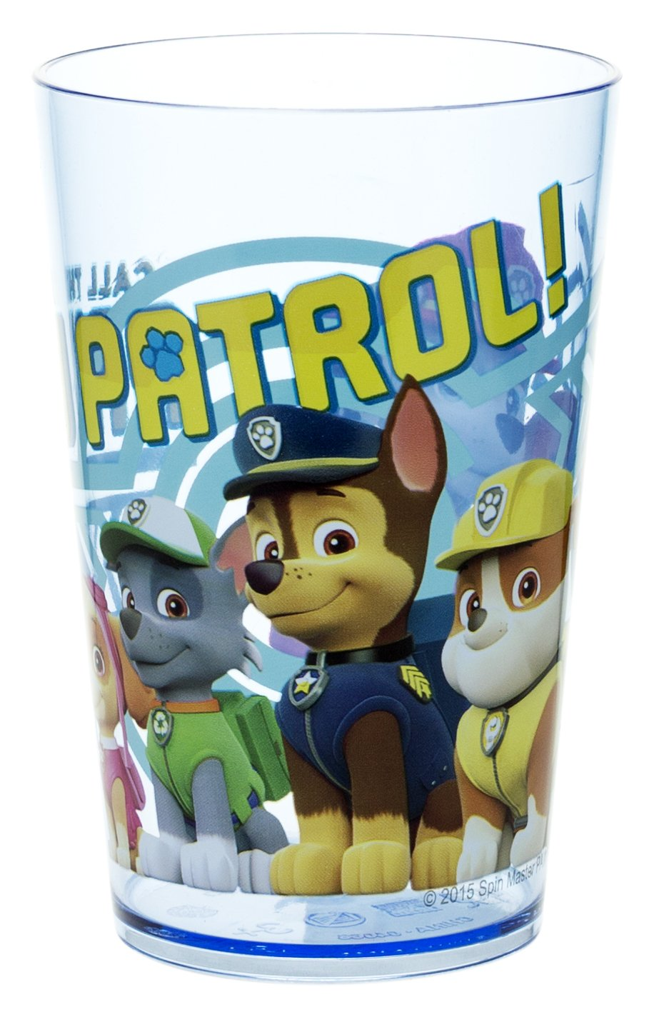 Zak! Designs Tumbler with Paw Patrol Graphics, Break-resistant and BPA-free plastic, 10oz PWPB-6301