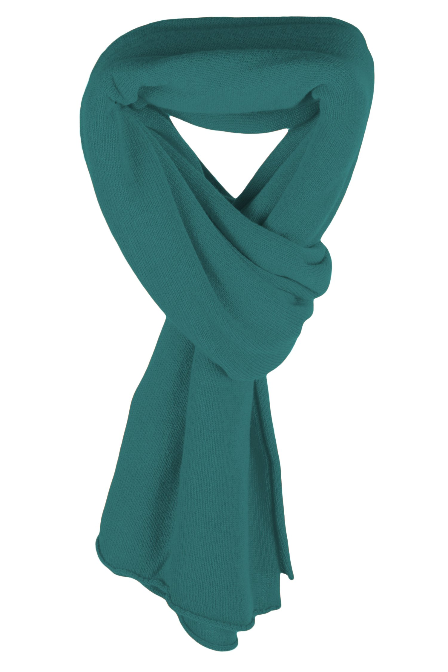 Ladies Ultrafine 100% Cashmere Scarf Wrap - Jade Green - made in Scotland by Love Cashmere RRP $400