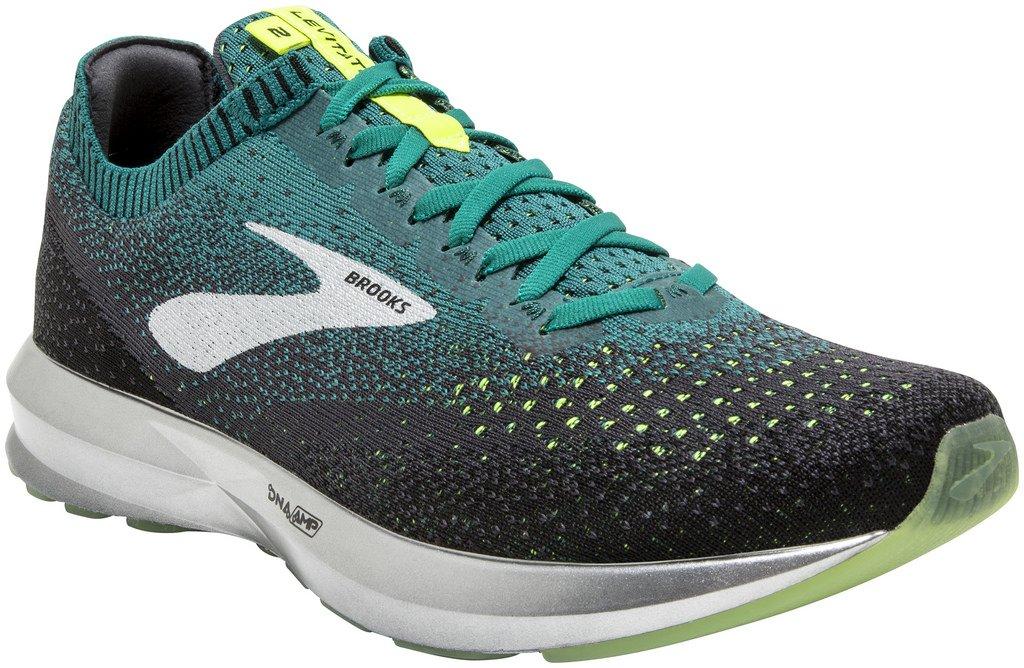 Brooks Levitate 2, Zapatillas de Running para Hombre 43 EU|Multicolor (Black/Teal/Navy 014)