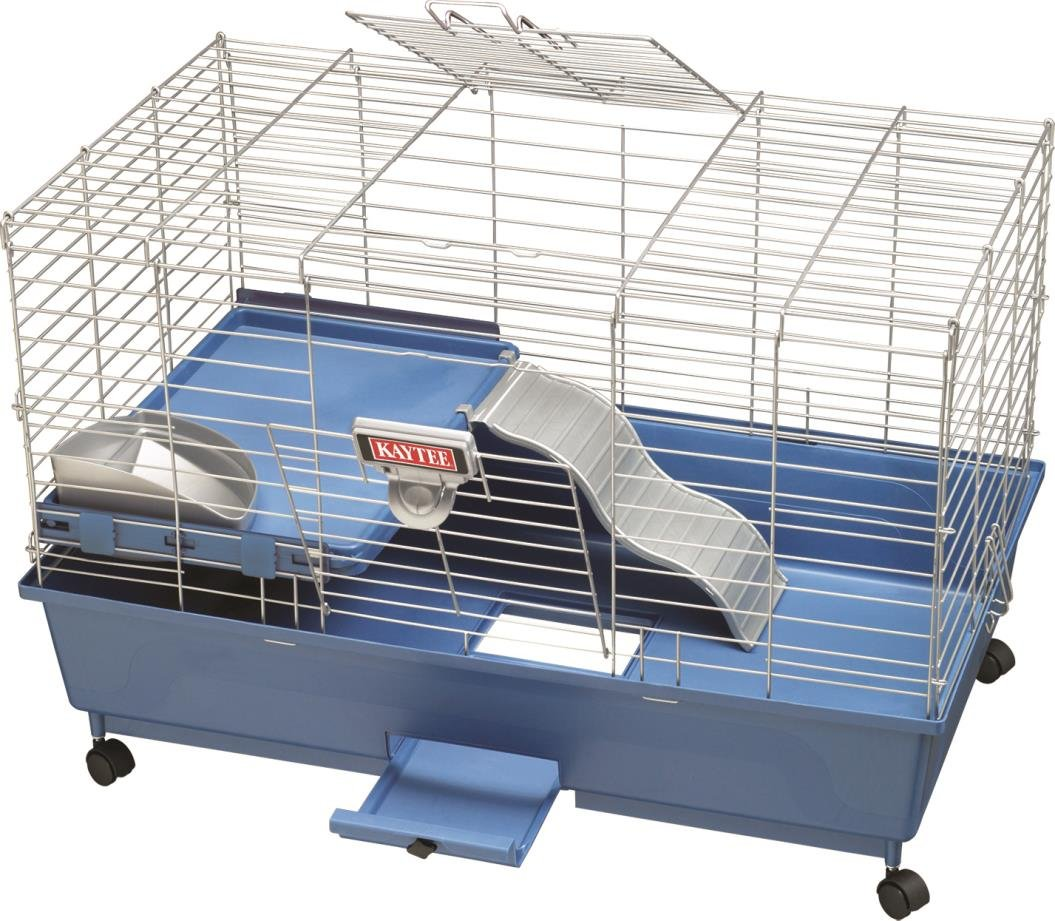 DPD MY FIRST HOME GUINEA PIG EZ CLEAN HOME W/CASTERS - LARGE
