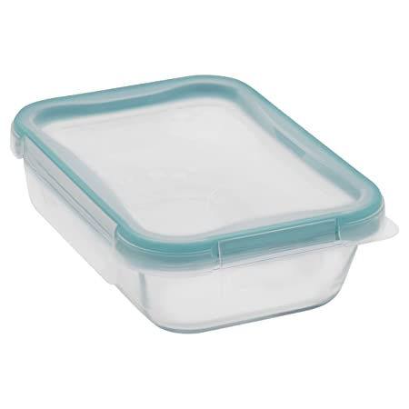 Snapware 2-Cup Total Solution Rectangle Food Storage Container, Glass Glassware & Drinkware at amazon