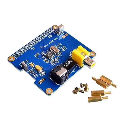 Tarjeta de sonido digital Raspberry Pi HIFI DiGi Tarjeta de ...