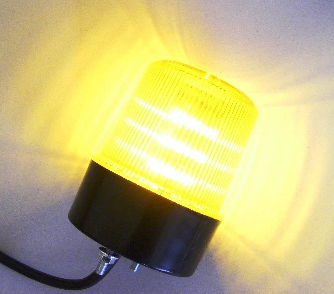Emergency LED Flashing Warning Recovery Amber Light Beacon 12V for Truck Tipper Lorry Tractor