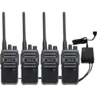 Retevis RB17 4400 mAh Walkie Talkies de largo alcance, radio de 2 vías para adultos, radios de dos vías con cargador USB…