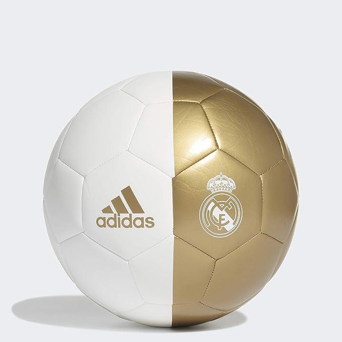 Real Madrid Capitano Balón de fútbol - F1906LSB026, 4, White/Dark ...