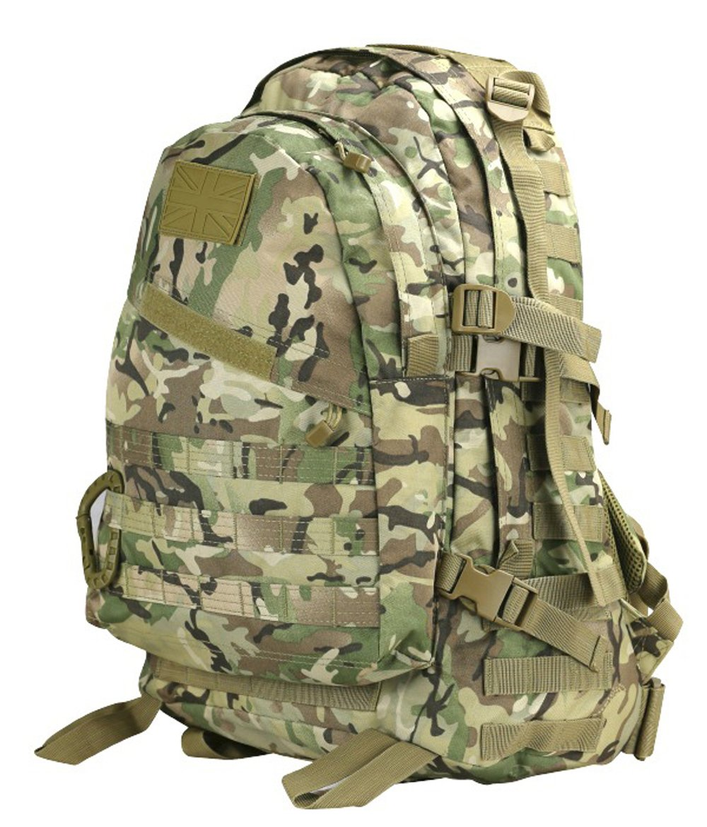 SPEC OPS BACKPACK 45 LITRE BAG RUCKSACK MOLLE  Military  Army Hiking Travel