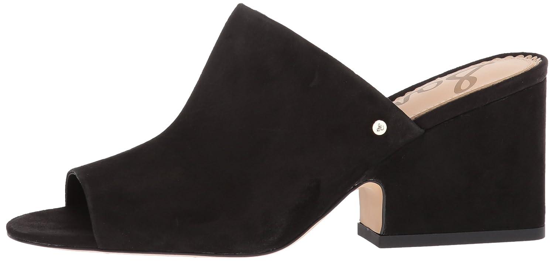 Sam Edelman Women's Rheta Wedge Sandal B072NDFVM4 6 B(M) US|Black Suede