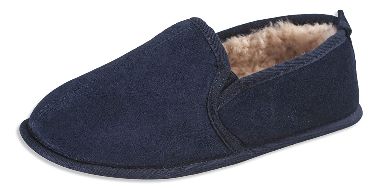 Nordvek Sheepskin Slippers Mens - Soft Sole - # 407-100