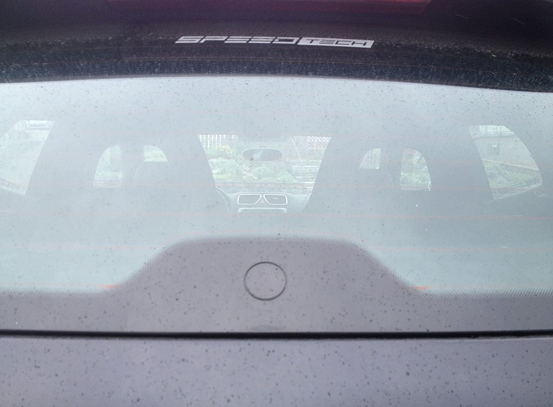 Speed-Tech CL.000 - Cubierta de limpiaparabrisas trasero, cristal transparente, para luna trasera: Amazon.es: Coche y moto