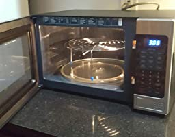 Samsung MG14H3020CM 1.4 cu. ft. Countertop Grill Microwave Oven with ...
