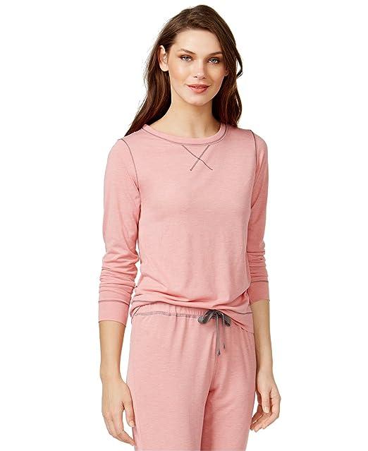 Calvin Klein de las mujeres Liquid Lounge pijama Top - -