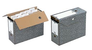 Nips - Cajas de archivo para carpetas colgantes (10 unidades, 12 x 33,