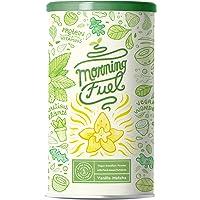 Morning Fuel - Vanilla Matcha Ontbijt Shake met veel voedingsstoffen - Eiwit van gekiemde erwten, quinoa, chia, MCT-olie…