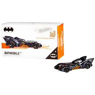 Hot Wheels id 1989 Batmobile {Batman}, Multi: Toys & Games
