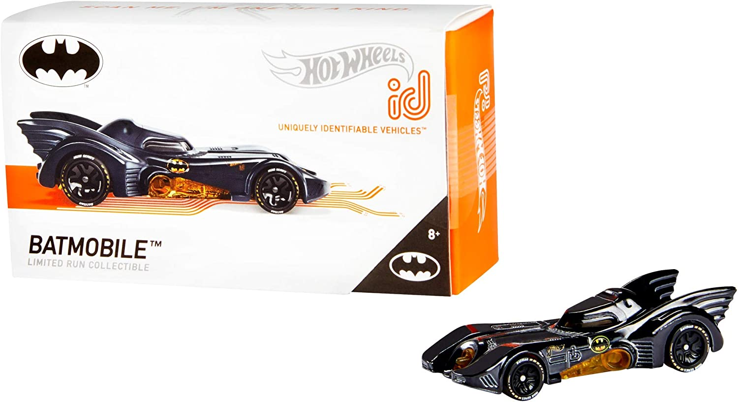 Hot Wheels ID Back To The Future Time Machine w//Real Riders SUPER CUSTOM