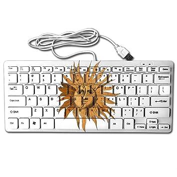 Amazon Zhongraninc Compact Full Keyboard Sun Face Sun Flower