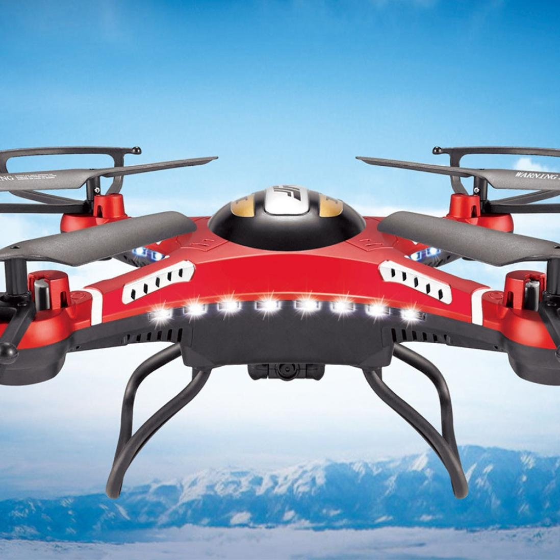 Tuscom@ JJRC H8D 6-Axis Gyro 5.8G FPV RC Quadcopter Drone HD Camera With Monitor