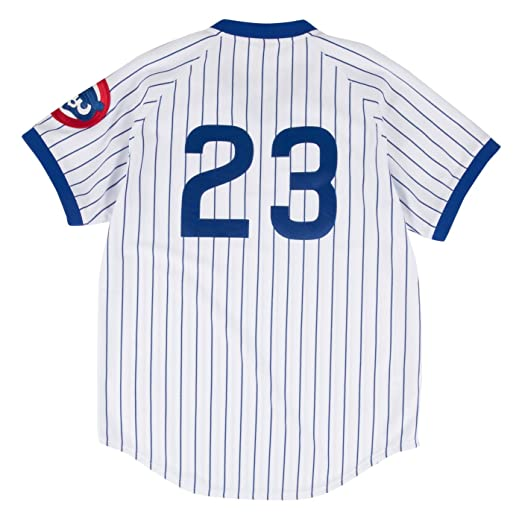 a164ba6bf Amazon.com   Mitchell   Ness Ryne Sandberg Chicago Cubs Authentic MLB 1987  Pullover Jersey   Sports   Outdoors
