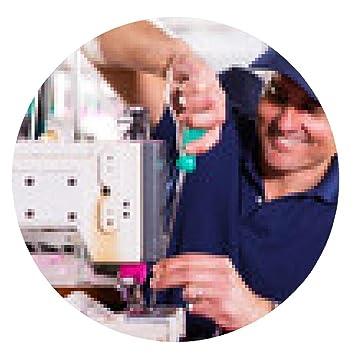 alfombrilla de ratón alto mecánico de reparación de máquinas de coser industriales - ronda - 20cm