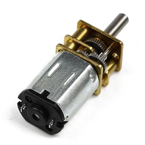Bighub N20 12V 1000 RPM Micro Deceleration Gear Reducer Motor (36 mm)