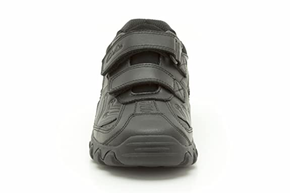 873074735cea Clarks Boys School Jack Shine Inf Coated Leather Shoes In Black Extra Wide Fit  Size 10  Amazon.co.uk  Shoes   Bags