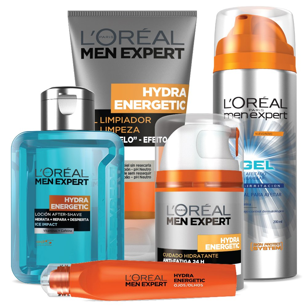 Men Expert by LOreal Paris Anti Irritation Shaving Gel 200ml: Amazon.es: Electrónica