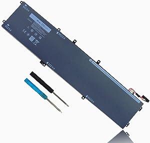 97WH 6GTPY Laptop Battery for Dell XPS 15 9560 9570 9550 7590 Precision 5510 5520 5530 Vostro 7500 5XJ28 i7-7700HQ 5D91C GPM03 4GVGH 1P6KD