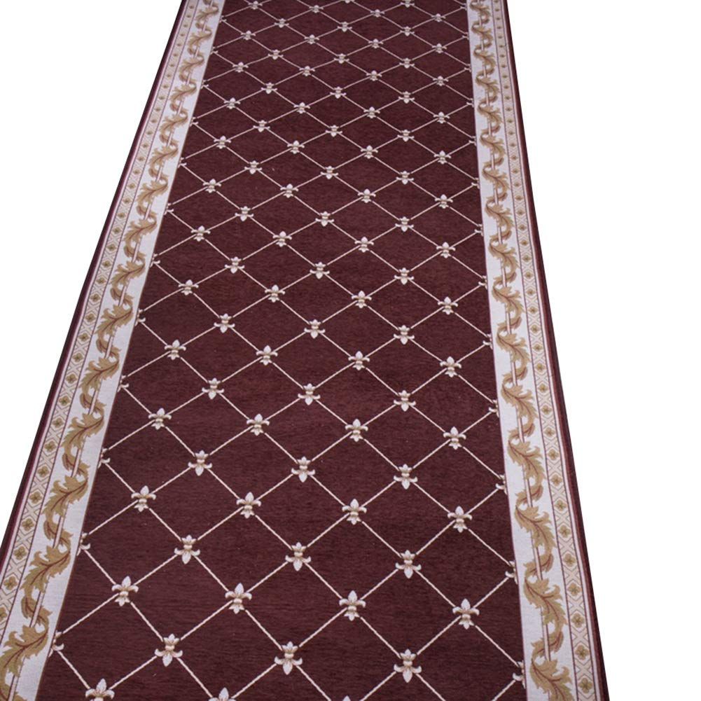 HAIPENG 廊下のカーペット 現代の エリアラグ 廊下 ランナー 幾何学 パターン 全体 入り口 ラグ 滑り止め カーペット にとって リビングルーム ダイニングルーム (色 : A, サイズ さいず : 1.5x7m) 1.5x7m A B07NWLMYNH