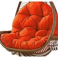 Columpio Canasta colgante Cojín del asiento Almohadillas para silla de hamaca de huevo…