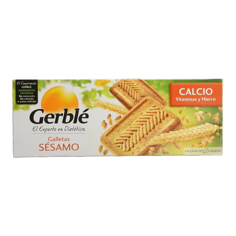 Gerblé - Galletas sésamo - Galletas de cereales - 230 g: Amazon.es: Alimentación y bebidas