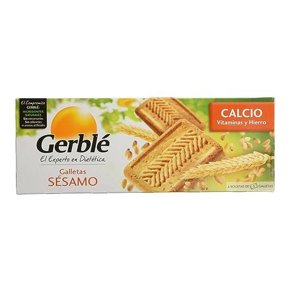 Gerblé - Galletas sésamo - Galletas de cereales - 230 g