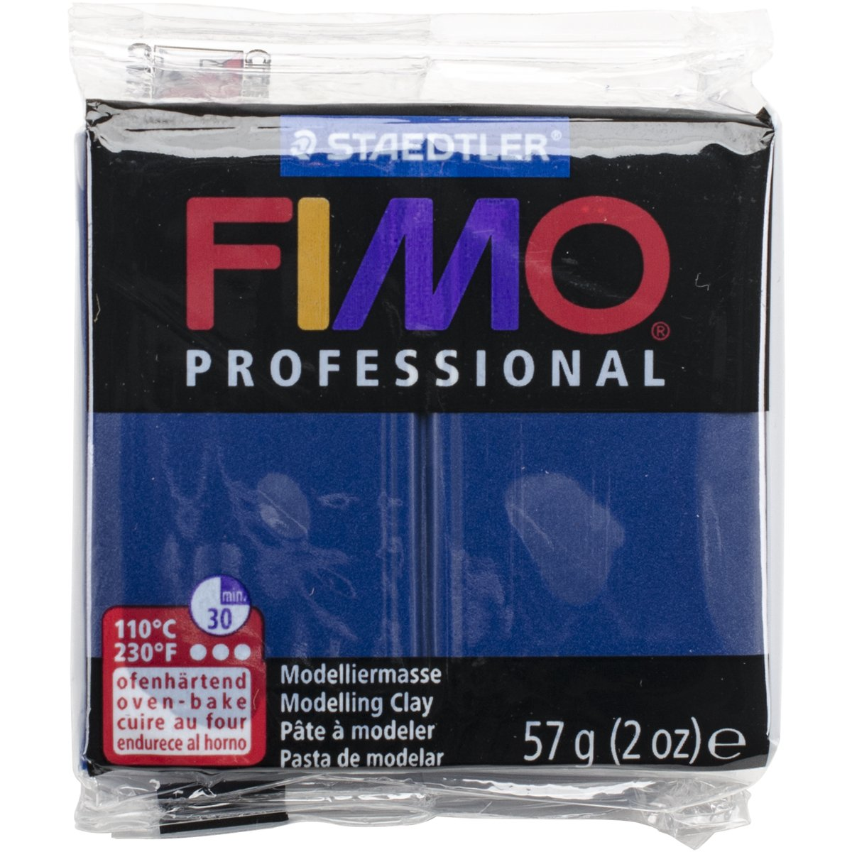 Staedtler Fimo Professional Soft Polymer Clay, 2 oz, Navy Blue EF8005-34