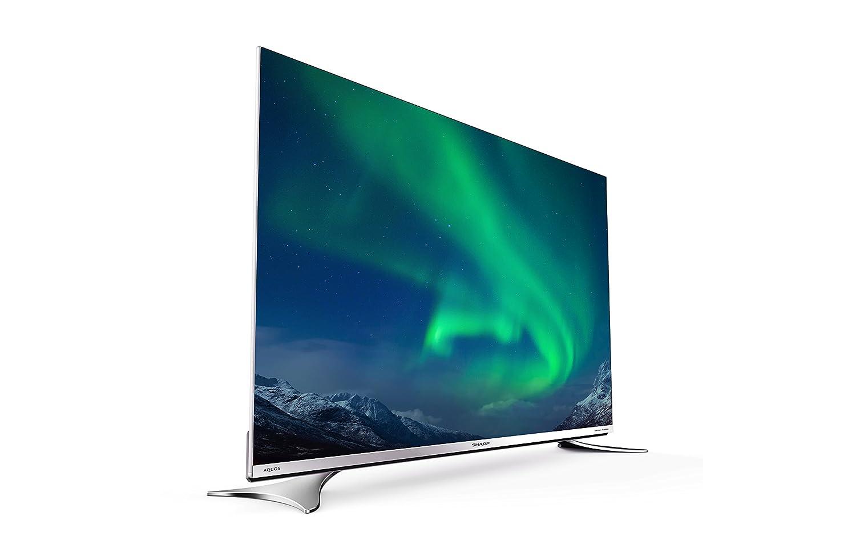 800 Hz Ultra HD - 3840 x 2160 pixels TNT Wi-Fi LED 4K 65 DLNA C/âble et Satellite HD Bluetooth T/él/éviseur Sharp LC-65XUF8772ES 165 cm