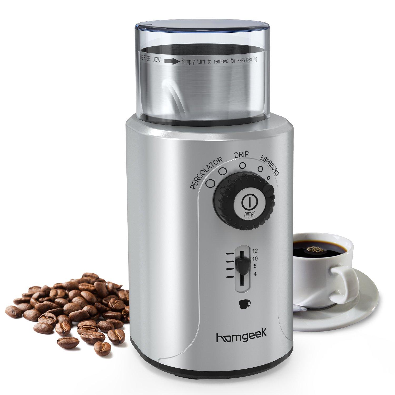 Macinacaffè elettrico 200 W Homgeek