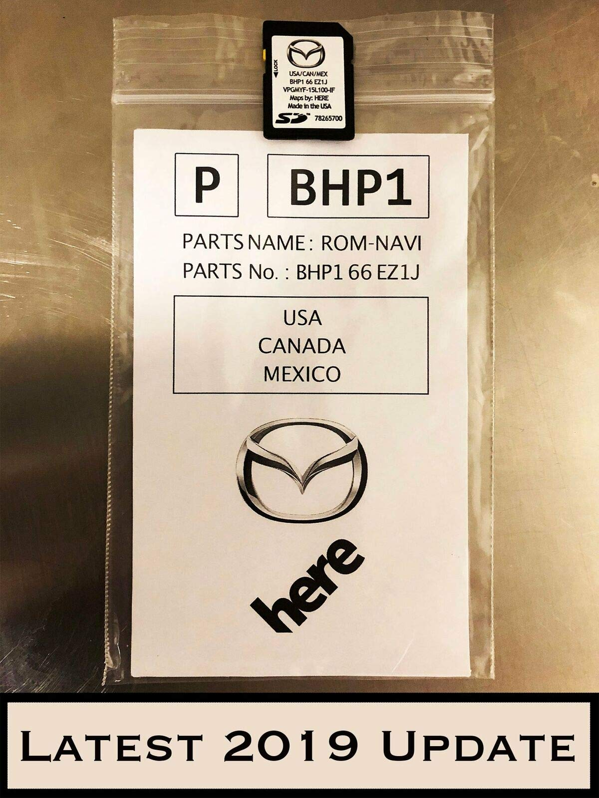 Latest 2019 Mazda SD Navigation Card BHP166EZ1J Mazda 3 6 CX-3 CX-5 CX-9 by CleverDeal