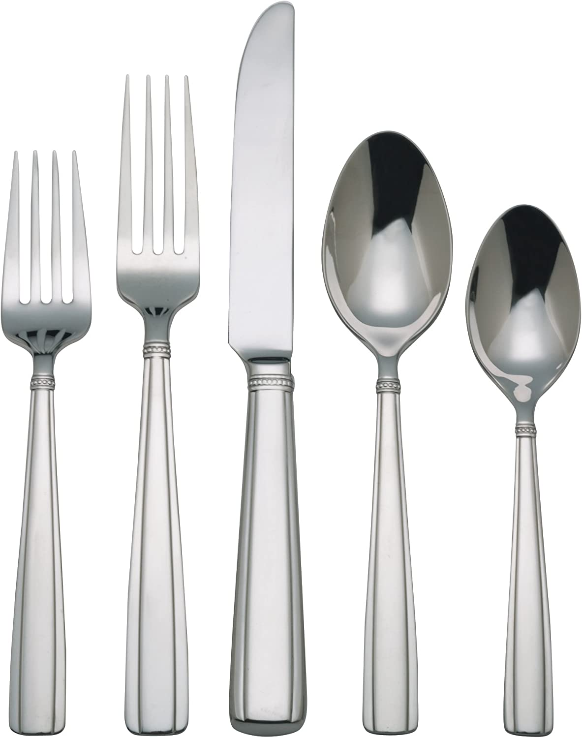 Reed /& Barton 04132008 65-Piece Andover Pearl Flatware Set by Reed /& Barton