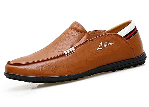 Lapens Lplfs2030la - Mocasines de Piel para Hombre Negro Negro: Amazon.es: Zapatos y complementos