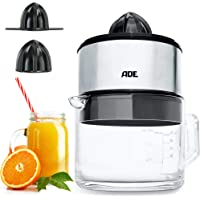 ADE KA1803 elektrische sappers / juicer / sapcentrifuge + hoogwaardige glazen karaf (citruspers met 60 watt motor, BPA…