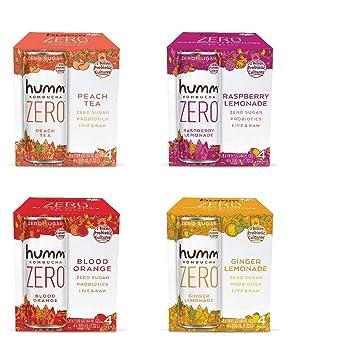 Humm Kombucha Zero Suga Variety Pack