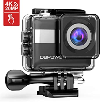 DBPower 4K Touchscreen 20MP Sony Sensor Action Camera