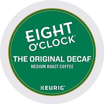 Eight O'ClockCoffee Decaf K-Cups