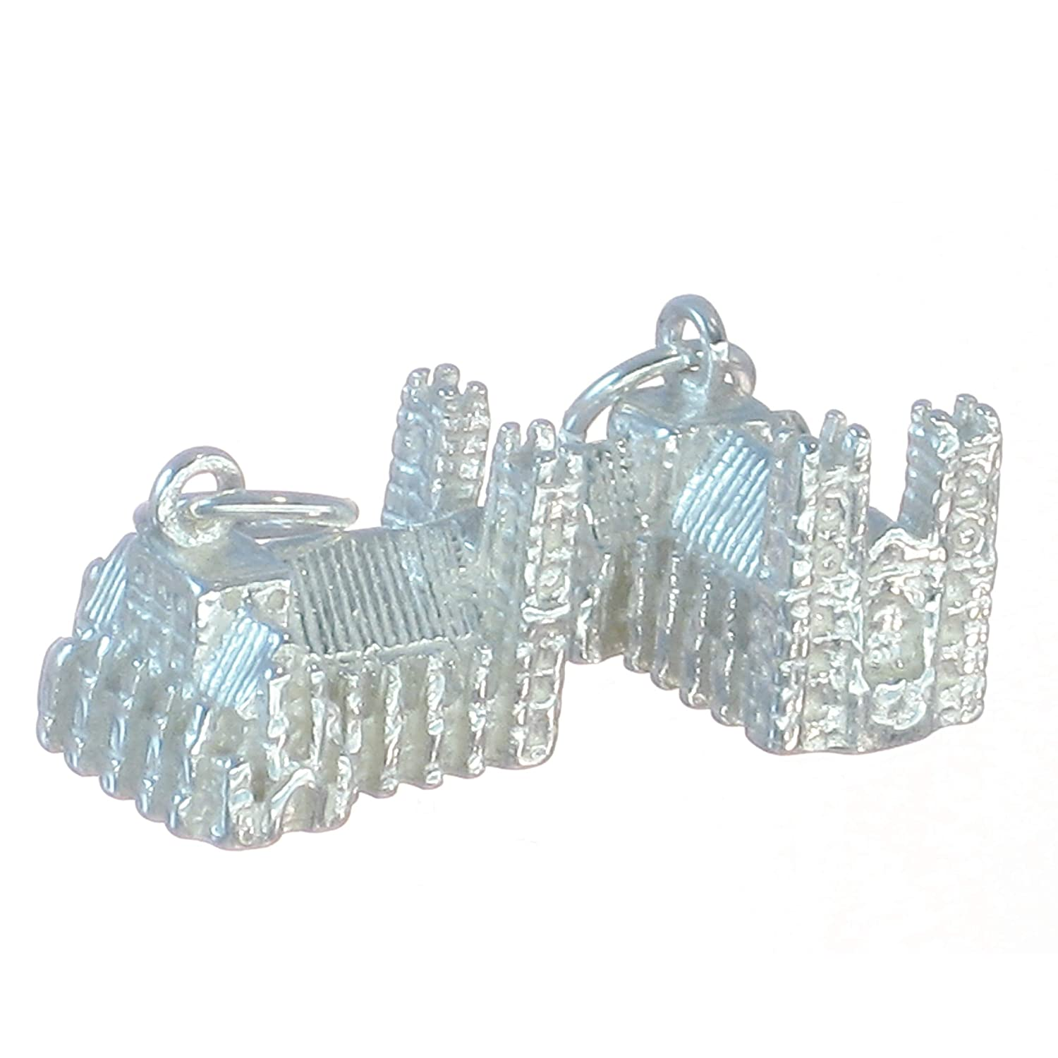 Wedding Cake sterling silver charm .925 x 1 Weddings Cakes Charms BJ2050