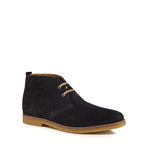 Perry Suede Desert Boots in Navy - Navy Base London Best Sale Cheap Price Buy Cheap Classic YVKd2bc66