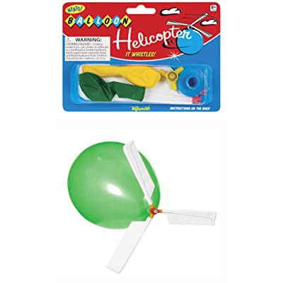 Toysmith Balloon Helicopter: Toys & Games