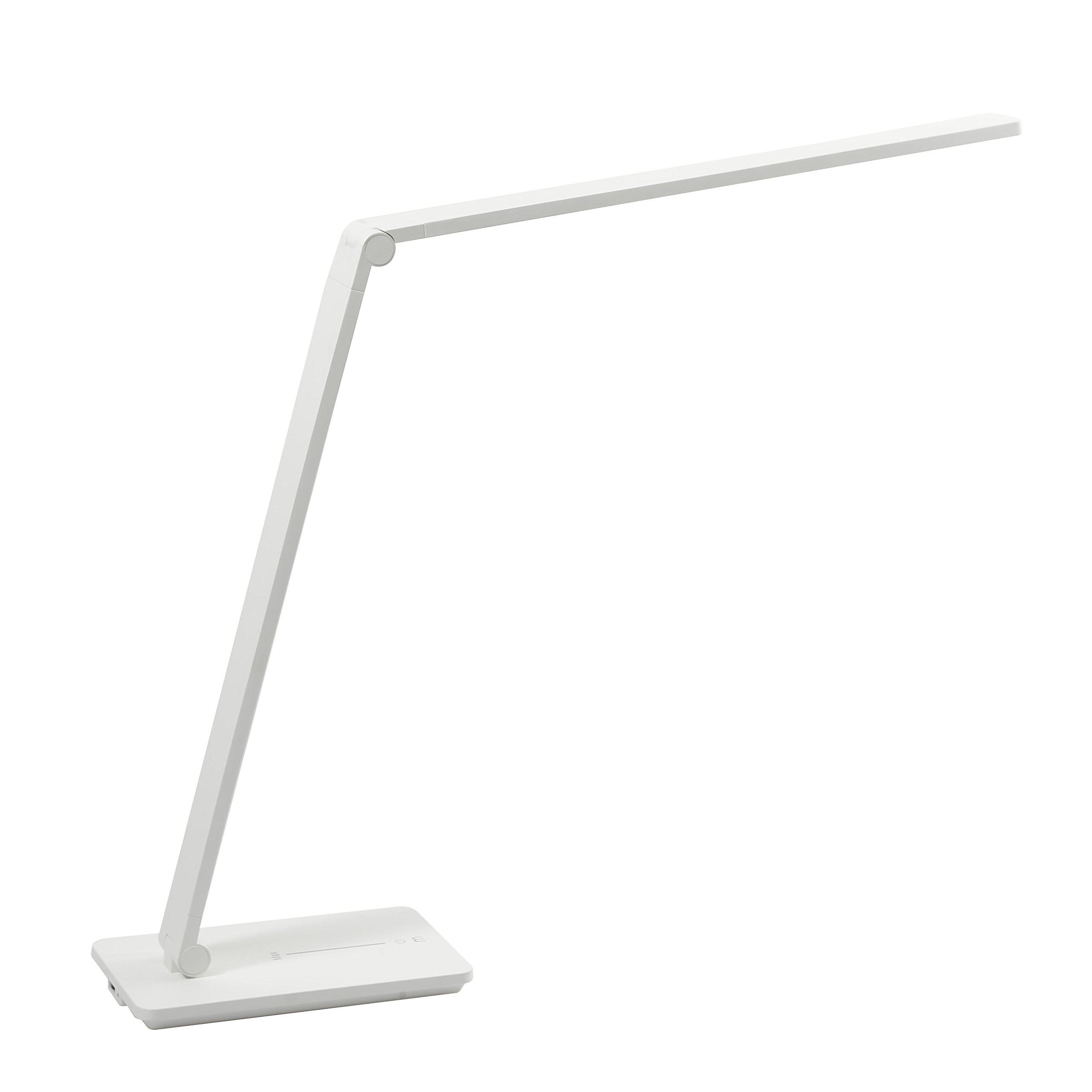 IESSENCE 9W Ultra-Slim LED Desk Lamp With USB Charging Port 5V,2.4A,Dimmable Table Lamp, Study Lamp/Workbench lamp,3 Color Modes/Limitless Levels Brightness And With Memory Function.