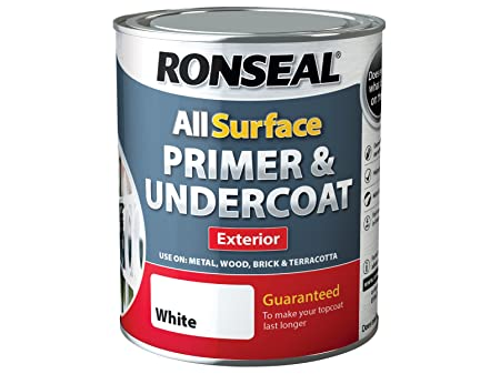 Ronseal OCAPP750 750 Ml One Coat All Surface Primer And Undercoat (exterior  Surfaces)