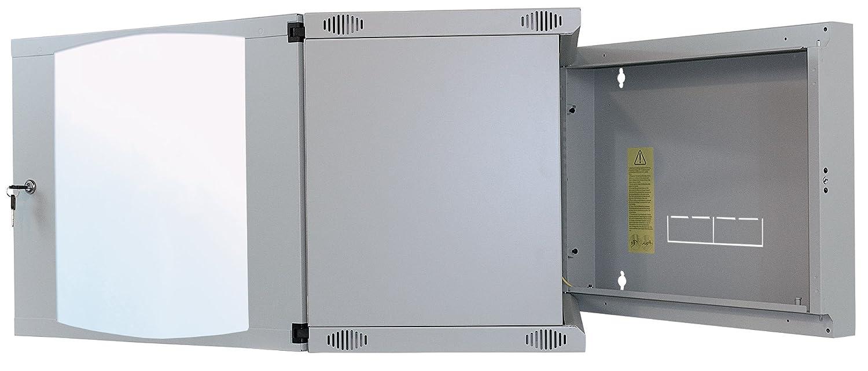 x 540 B Intellinet 714792 48,26 cm 19 19 Zoll x 560 T mm Flatpack Schutzklasse IP20 grau H Wandverteiler Basic Line 6 HE 353