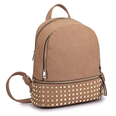 6c588ae19a4 MMK collection Women Fashion Studded Backpack(04-6582)~Designer Purse for  Women