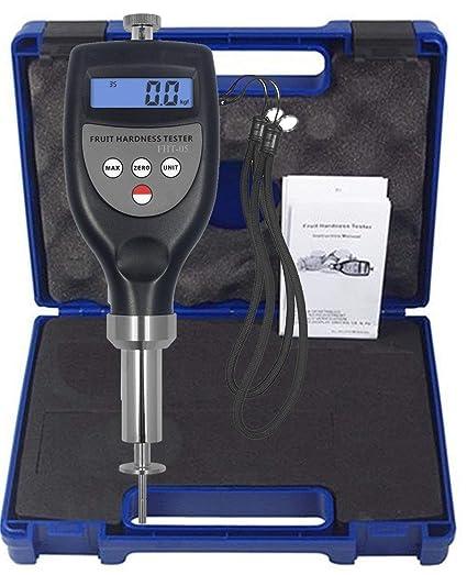 VTSYIQI FHT-05 Fruit Hardness Tester Meter Fruit Sclerometer 0.2~5.0kgf/cm² Fruit penetrometer Durometer for Soft Fruit Peach Banana Apricot Plum Melon ...